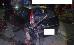 Za volantom sedel vodič s viac ako dvomi promile alkoholu