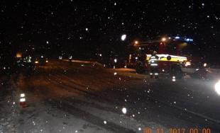 Dopravný chaos v Banskobystrickom kraji, na sneženie doplatila aj mladá vodička