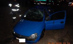 Opitý vodič nestihol dobrzdiť a narazil do auta pred ním, nafúkal 2,3 promile a prišiel o vodičák
