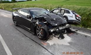 Tragická nehoda: Vodič Audi nedal prednosť v jazde a po zrážke prišiel o život