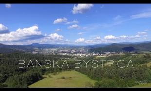 Nádherné zábery na Banskú Bystricu